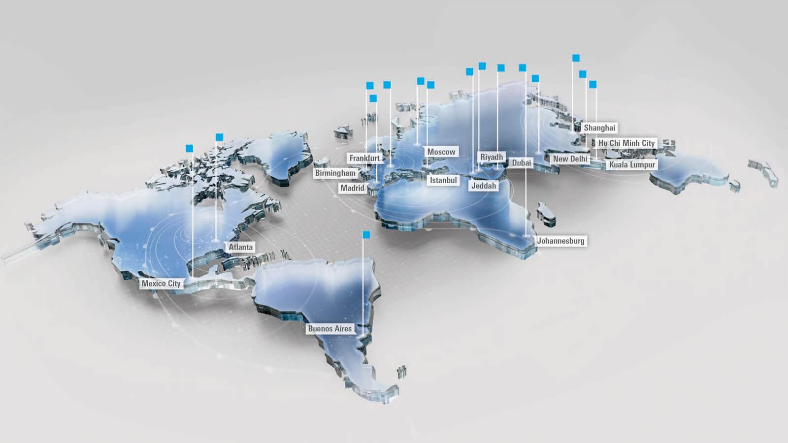 أوتوميكانيكا - 17 معرضاً حول العالم